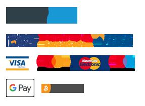 Ikony přijímaných plateb